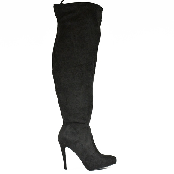 a3269a88f Journee Collection Shoes | Womens Over Knee Wide Calf Boot | Poshmark